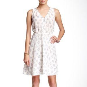 Rebecca Taylor I Sleveless Silk Dress